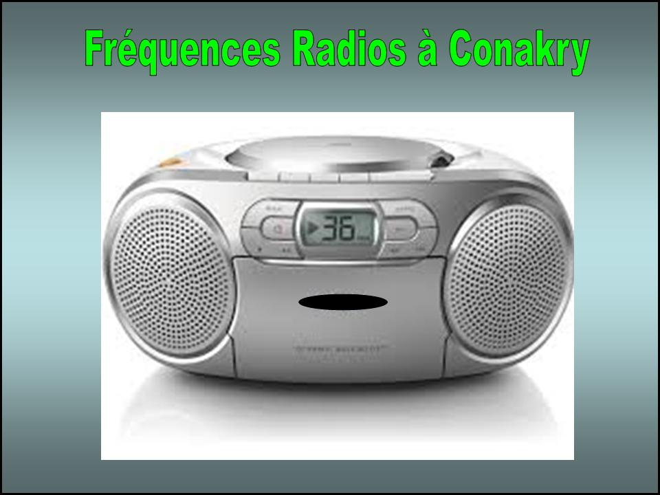 Fréquences Radios JPEG